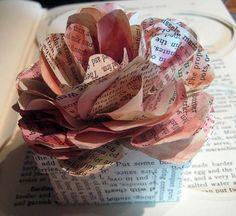Pretty Paper Flower Box Tutorial - #diy