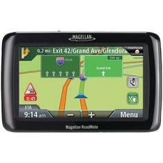 "MAGELLAN RM2136RGLUC Refurbished RoadMate(R) 2136TLM 4.3"" GPS Device with Free Lifetime Map & Traffic Updates"