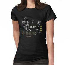 Welcome the Rooster!  ChineseNewYear2017 Women's T-Shirt #ChineseNewyear2017 #Rooster #Wealth #Tshirt #Women