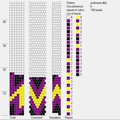 6 around bead crochet rope pattern Bead Crochet Patterns, Bead Crochet Rope, Beading Patterns, Crochet Beaded Bracelets, Beaded Bracelet Patterns, Crochet Necklace, Crochet Video, Square Patterns, Bead Jewellery
