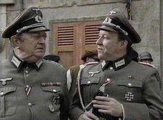 Colonel von Strohm and Lieutenant Hubert Gruber