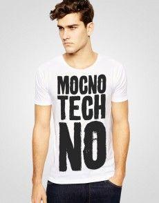 Mocno Tech No T-shirt T Shirty, Man Fashion, Tech, Mens Tops, Shopping, Moda Masculina, Fashion Men, Men's Fashion Styles, Men's Fashion