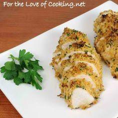 Mustard-Herb Panko Crusted Chicken