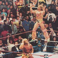 UltimateWarrior  HulkHogan  Wrestlemania6  WWF  WWFGoldenEra  WWFOldSchool   WorldWrestlingFederation  WWE 7861cd3c78b5