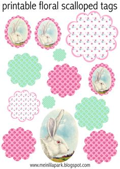 free printable planner stickers and scrapbooking papers Free Printable Planner Stickers, Free Printable Tags, Printable Paper, Free Printables, Scrapbook Paper, Scrapbooking, Stencil, Freebies, Easter Printables