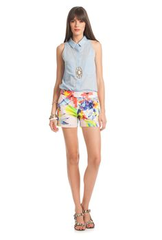 fd85258514d Corbin 3 Short - TrinaTurk Find this fun summer outfit at Copper Penny  Hilton Head!