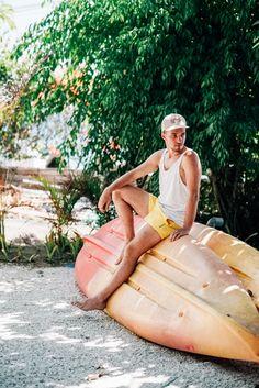 Парень сидит на серфе на острове Gili Air. Follow me on Instagram @chebesovfilms Gili Air, Surfing, Around The Worlds, Guys, Instagram, Surf, Boyfriends, Boys, Men