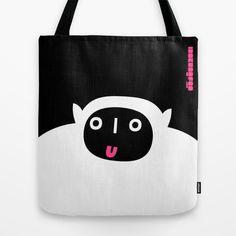 mostly modern monster : idokungfoo.com Tote Bag by simon oxley idokungfoo.com - $22.00