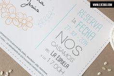 http://eje360.com/invitaciones-de-boda-low-cost/ Agencia de diseño eje360