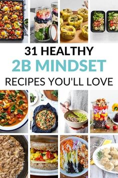 Our 2B Mindset Recipes will help you get in more vegetables! Get our favorite breakfast, lunch, and dinner recipes to create a meal plan you love!