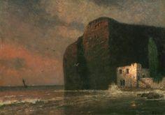 Jakub Schikaneder (Czech, 1855-1924), Evening in the Bay, c.1920.