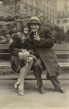 Al Jolson and Ruby Keeler. i wish women still dressed like this <3