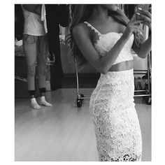 Ariana Grande Lace Outfit