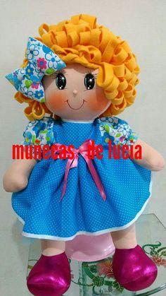 Crochet Toys Patterns, Stuffed Toys Patterns, Crochet Dolls, Doll Clothes Patterns, Doll Patterns, Sewing Patterns, Doll Face Paint, Fabric Dolls, Rag Dolls