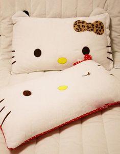 *hello kitty pillows                                                                                                                                                                                 More