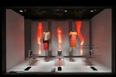 Proenza Schouler windows at Barneys, New York - Retail Design Blog» visual merchandising