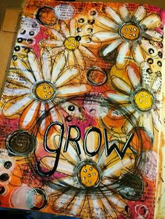 Original pinner sez: Tracy Scott - another of my favorite mixed media artists!!