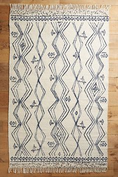 Slide View: 1: Berber-Printed Rug