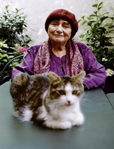 Agnès Varda by Alasdair McLellan for The Gentlewoman Issue Autumn Winter 2018 Maurice Careme, Daniel Johnston, Agnes Varda, Art Partner, Son Chat, Love And Basketball, Cat People, Almost Famous, Female Photographers