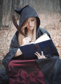Magic spell journal.