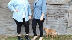 """""""A denim shirt is essential for any wardrobe and any season... 2. Layer With a Sweater"""" #Denim #Shirt #Clothing #Fashion #Layering #Forever21"""