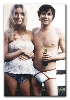 Jay and Sharon on August 9, 1969. Within twelve hours, they would be murdered.