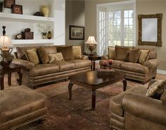 817 Stationary Living Room Group by Franklin