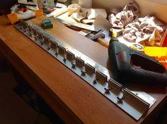Soporte (varadero), para la construcción de maquetas navales.
