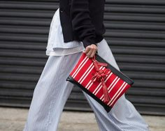 Earn your stripes  #NYFW  via MARIE CLAIRE AUSTRALIA MAGAZINE OFFICIAL INSTAGRAM - Celebrity  Fashion  Haute Couture  Advertising  Culture  Beauty  Editorial Photography  Magazine Covers  Supermodels  Runway Models