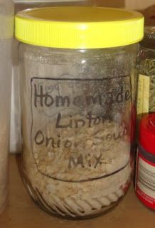 "Homemade ""Lipton"" Onion Soup Mix- fantastic for a healthy alternative."