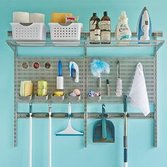 Your organised home starts at Howards Storage World. Organisation is simple with kitchen storage, shoe racks, shelving, bins, clothes racks and more! Elfa Closet, Elfa Shelving, Hall Cupboard, Howard Storage, Shelving Solutions, House On The Rock, Laundry Storage, Laundry Room Design, Home Organization