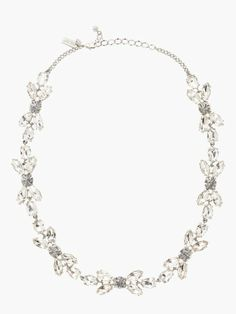 SO pretty!  Kate Spade Crystal Petals short necklace.  LOVE!