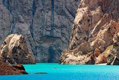 Kelsu lake, Kyrgyzstan. Travel