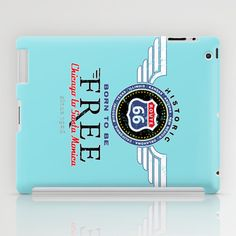 born to be free... iPad Case by mauro mondin - $60.00
