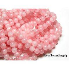 1 Strand 8mm Rose Quartz Beads