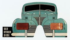 Polaroid 3-D glasses, for a film shown at the 1939 Worlds Fair - Contact: dicksheaff@cox.net © Richard D. Sheaff
