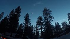 Moon Venus over South Lake Tahoe Time lapse Night Lapse