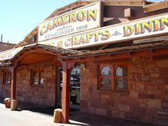 Best place for Navajo tacos. Cameron Trading Post   Hwy 89 / 54 Mi. N of Flagstaff