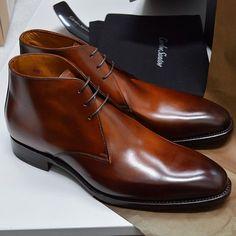 Chukka boots de chez Carlos Santos #style #menstyle #mensfashion #shoes #chukka #boots #carlossantos