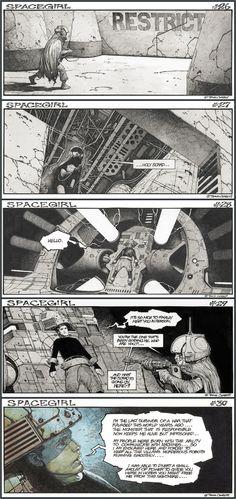 Travis Charest's Spacegirl #26-30