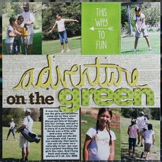 Adventure On The Green...Golfing Layout