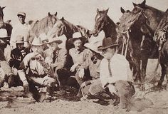 Navasota's greatest Texas hero: Frank Hamer   photographed for a magazine article in 1920 during a joint exercise on the Texas- Mexican border between Texas Rangers and Mexican police to halt whiskey smugglers during the days of Prohibition.