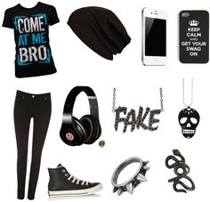 """Bad A**"" by vanessa-sykes ❤ liked on Polyvore"