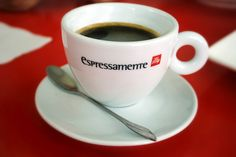 Coffee at espressamente illy. Coffee Cups, Mugs, Tableware, Coffee Mugs, Dinnerware, Cups, Dishes, Mug, Coffeecup