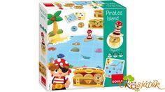 A játékosoknak ügyesen kell navigálniuk a hajójukat, hogy megtalálják a tenger mélyén elrejtett kincseket. A tenger azonban csapdákat rejt, vigyázni kell, hogy oda ne menjenek a játékosok, mert elveszthetik az addig gyűjtött kincseiket. Pirate Island, Mac Pro, Painted Pots, Educational Games, Planer, Neon, Toys, Holiday Decor, Painting