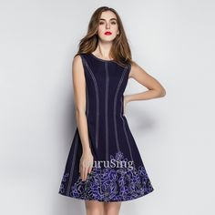 Product Name: LD5230 Floral Border Swing Dress Click On Link To View This Product : http://gurusing.sg/?post_type=product&p=12357. We Have Publish More Products And Special Offer Are Going On Our Website GuruSing. Hurry Enjoy Up To 80% Discounts......