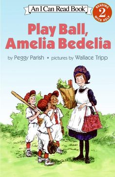 Play Ball, Amelia Bedelia, by Peggy Parish - E/PAR Reader Blue Amelia Bedelia is back, filling in for a sick player on the Grizzlies baseball team. Watch out! Because nobody plays ball like Amelia Bedelia.