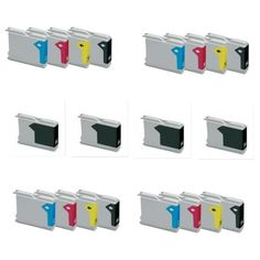 20 X CARTUCHOS COMPATIBLES NON OEM Brother Lc1000 Lc970 ,Brother DCP 130C , DCP 135C , DCP 150C , DCP 153 C , DCP 157 C , DCP 330C , DCP 330 , DCP 350C , DCP 357 C , DCP 540 , DCP 540CN , DCP 560 , DCP 560CN , DCP 680 CN , DCP 750CW , DCP 770CW , Fax 1860 C , Fax 1960 C , Fax 2480 , Fax 2580 C , MFC 235C , MFC 240C , MFC 260C , MFC 440CN , MFC 465CN , MFC 560 CN , MFC 660CN , MFC 665 CW , MFC 680CN , MFC 685 CW , MFC 845CW , MFC 885CW , MFC 3360C , MFC 5460CN , MFC 5860CN , Empresa Española…