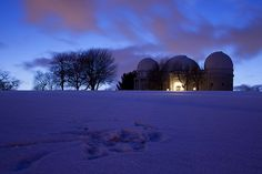 Allegheny Observatory in Riverview Park by Melissa @ Pittsburgh Parks Conservancy, via Flickr
