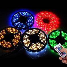 16ft Color Changing 300 LEDs Light Strip with Remote Control